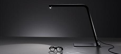 Colibri - Schwarze LED- Schreibtischleuchte