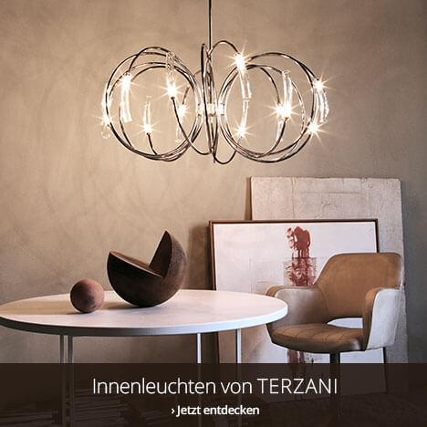 Wohnraumleuchten von Terzani entdecken