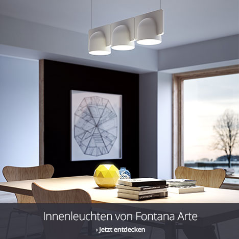 Wohnraumleuchten von Fontana Arte entdecken