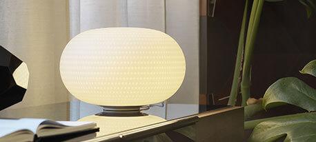 Fontana Arte - LED-Tischleuchte Bianca