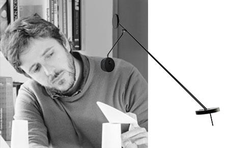 Francesc Vilaró und Wandleuchte Invisible