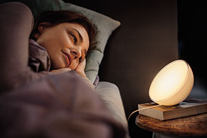 Wake up mit Philips Hue