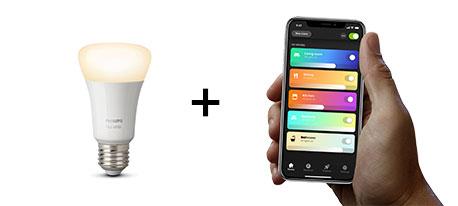 Hue-Produkt + Hue-App