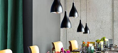 Elegante Designer-Pendelleuchte One Eighty