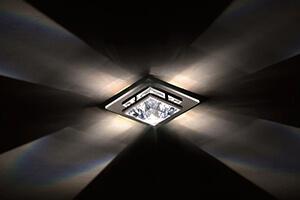 Deckeneinbauleuchte Madison mit Swarovski-Kristall