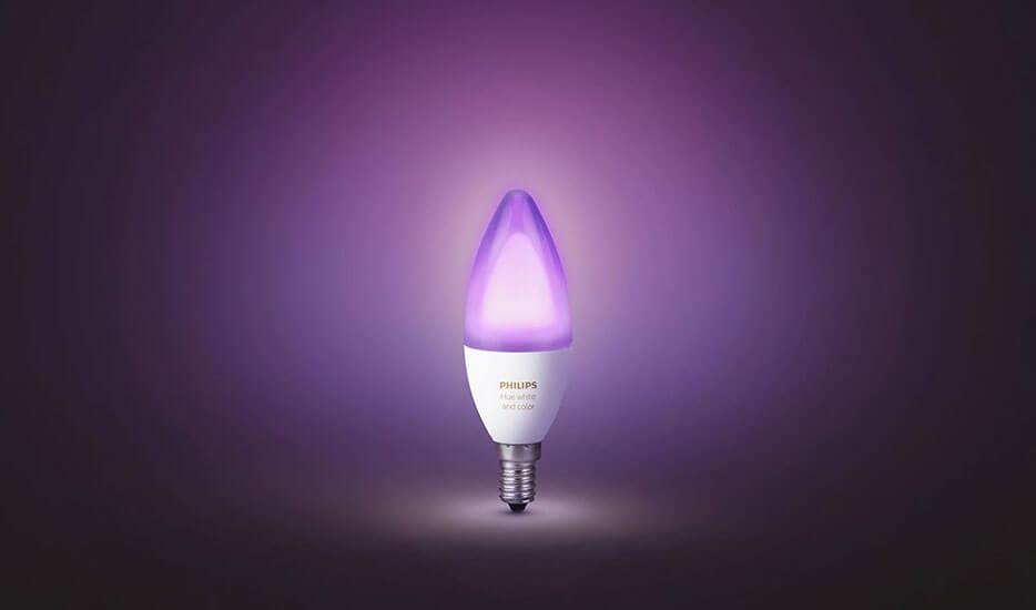 Philips Hue Kerzenlampe RGBW E14 6,5W 2er-Set