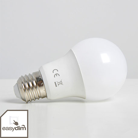 LED-Lampe E27 10W, warmweiss, 800 Lumen, easydim