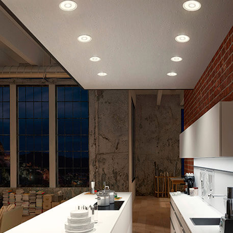 led einbauspots led einbauleuchten led einbaustrahler. Black Bedroom Furniture Sets. Home Design Ideas
