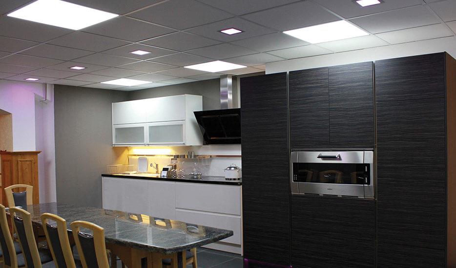 LED-Einbaustrahler Küche