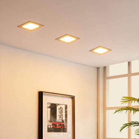LED-Einbaustrahler Flur