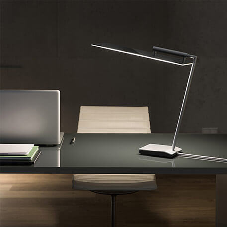 OLED Tischlampe