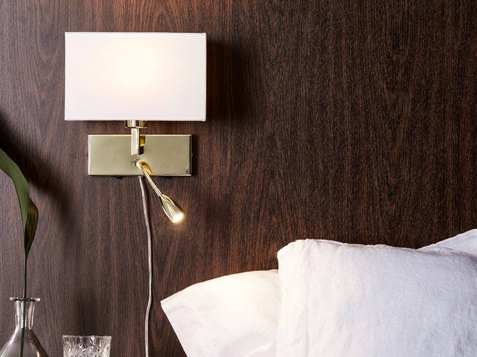 LED-Leselampe - Wandleuchte Savoy