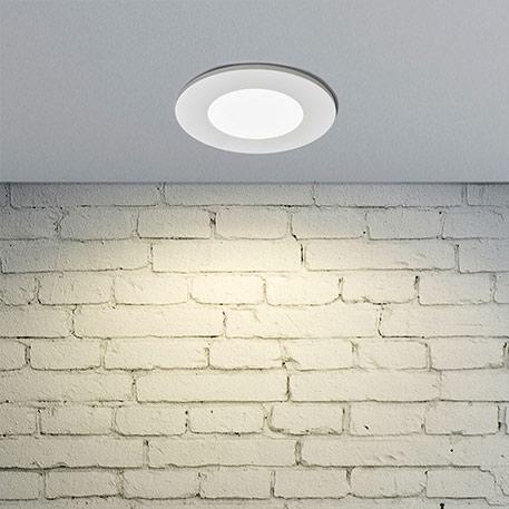 LED-Einbauleuchte Kamilla in Weiß, IP65