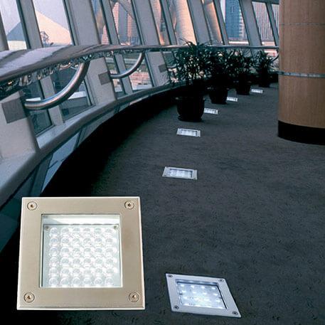 Edelstahl LED Bodeneinbauleuchte MEMA