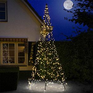 Fairybell® Weihnachtsbaum mit Mast, 4 m
