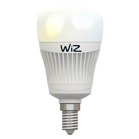 E14 WiZ LED-Lampe ohne FB Lf. weiß