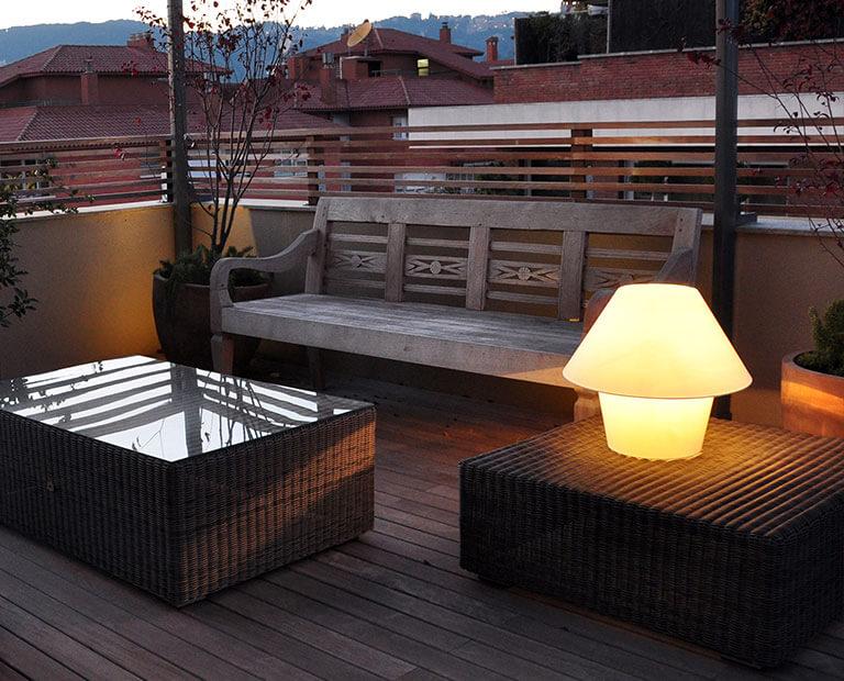 Terrassenlampen