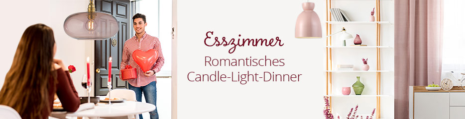 Esszimmer - Romantisches Candle-Light-Dinner
