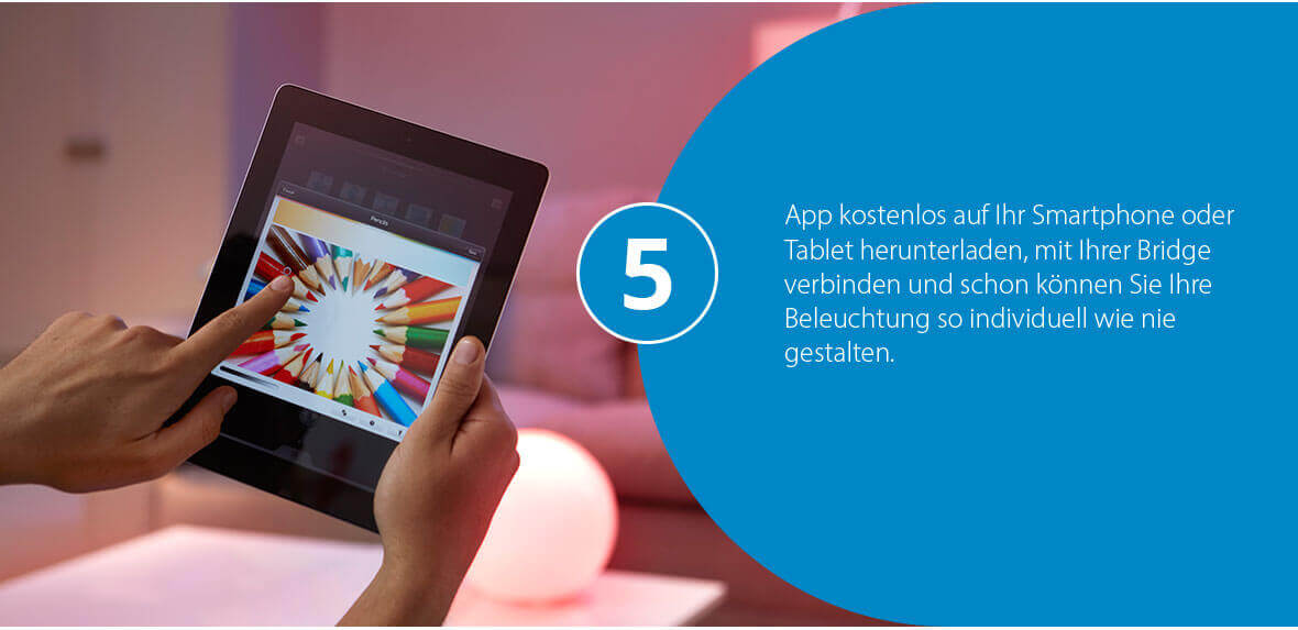 App zu Philips Hue