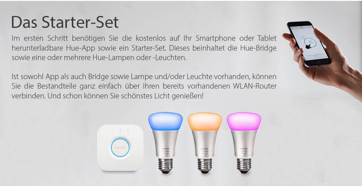 Philips Hue Starter Produkte