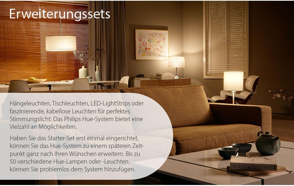 Philips Hue Erweiterungs - Produkte
